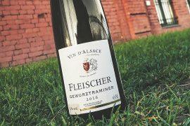 Обзор и дегустация Arthur Metz, «Fleischer» Gewurtztraminer, Alsace AOC, 2016