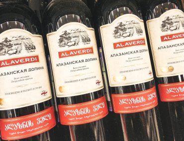 Грузинские вина vs российские магазины