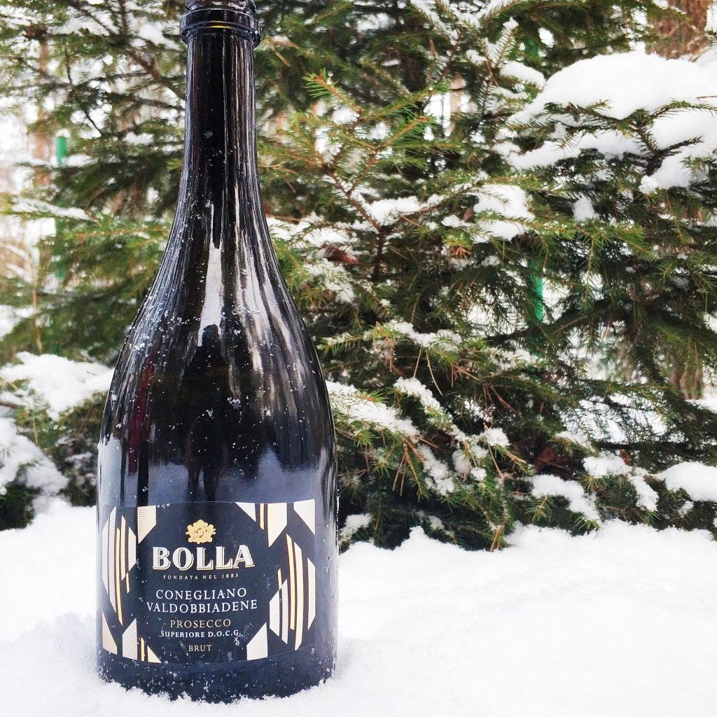 Обзор и отзыв на вино Bolla, Prosecco Superiore, Conegliano Valdobbiadene DOCG