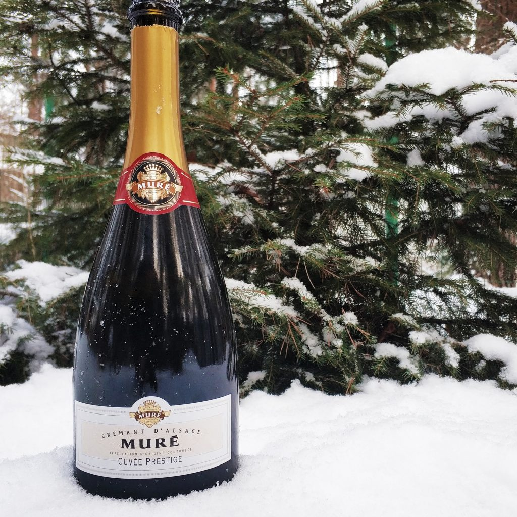 обзор вина Rene Mure, Cremant d'Alsace «Cuvee Prestige» Brut