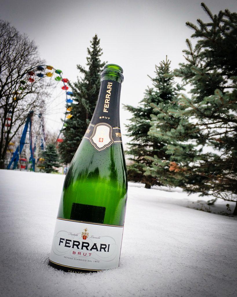 Ferrari Brut, Trento DOC игристое вино отзыв и обзор