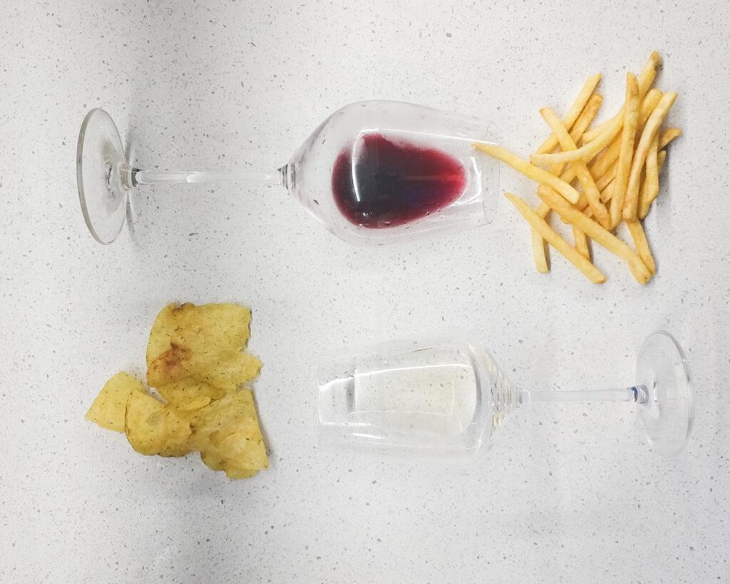 вино и фастфуд сочетания