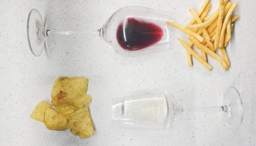 Вино и фастфуд: простые примеры сочетаний