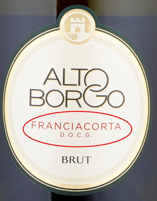 Ищите на этикетке: Franciacorta DOCG