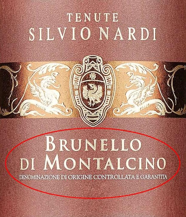 Ищите на этикетке: Brunello di Montalcino DOCG