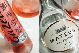 Mateus Rose vs Gazela Vinho Verde Rose