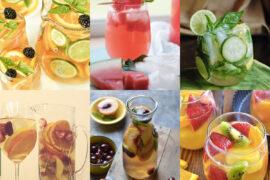 8 рецептов летней сангрии