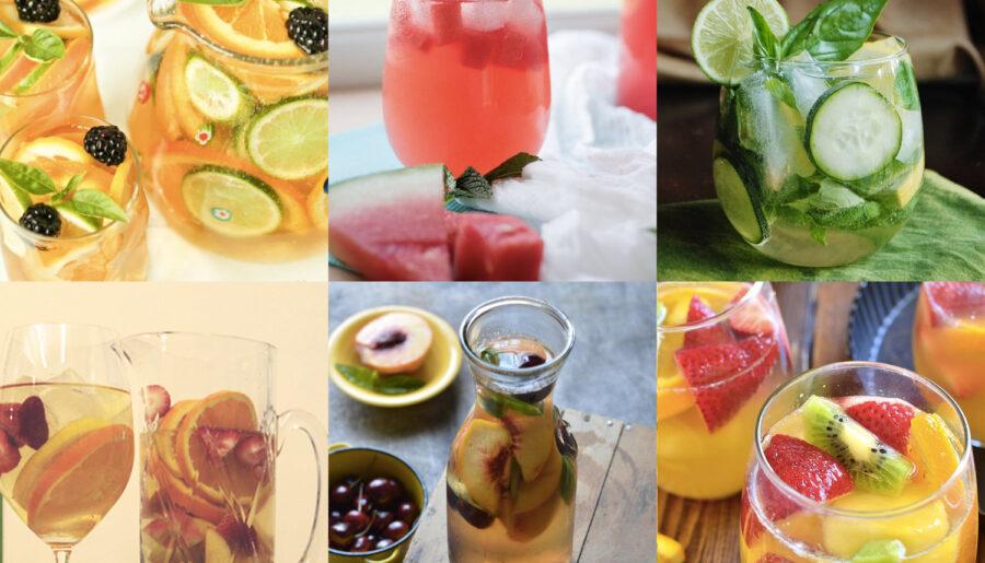 8 летних рецептов сангрии
