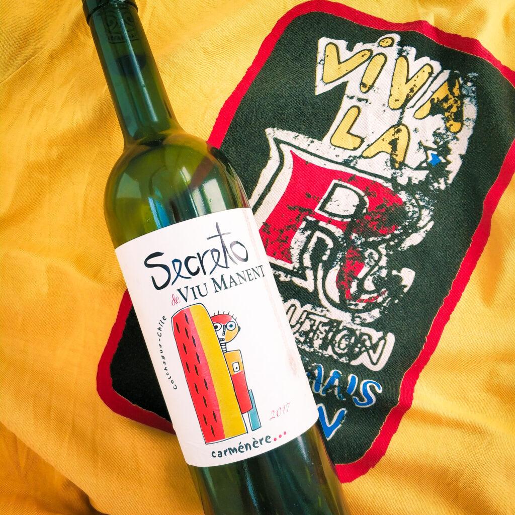 вино Viu Manent, «Secreto» Carmenere, 2017 красное сухое