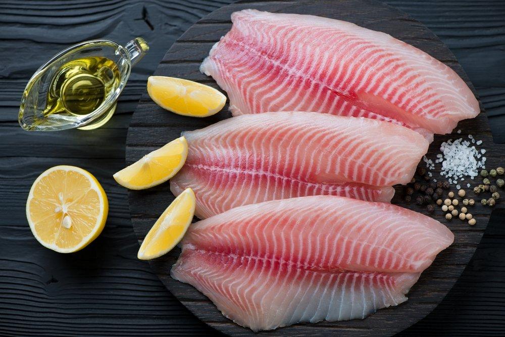 Рыба средней плотности и вино