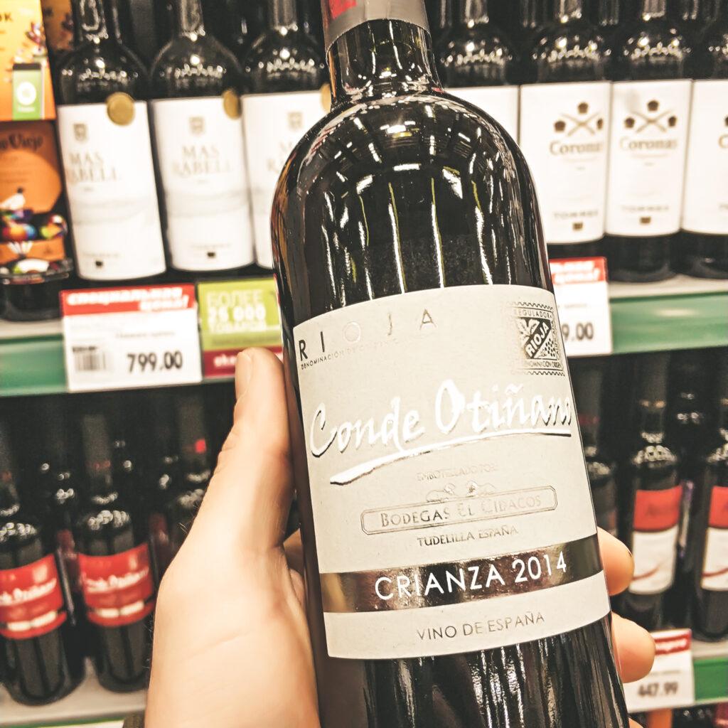 Вина в Окее, Conde Otinano Rioja Crianza, 2014