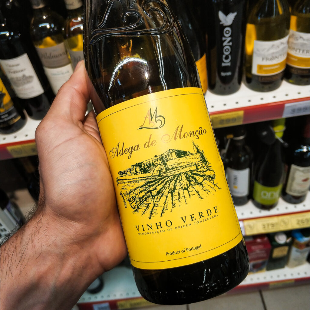 Обзор и отзыв на вино Виньо Верде, Adega de Moncao, 2017