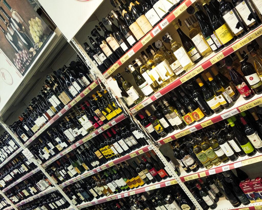 Обзор вин сети Магнит