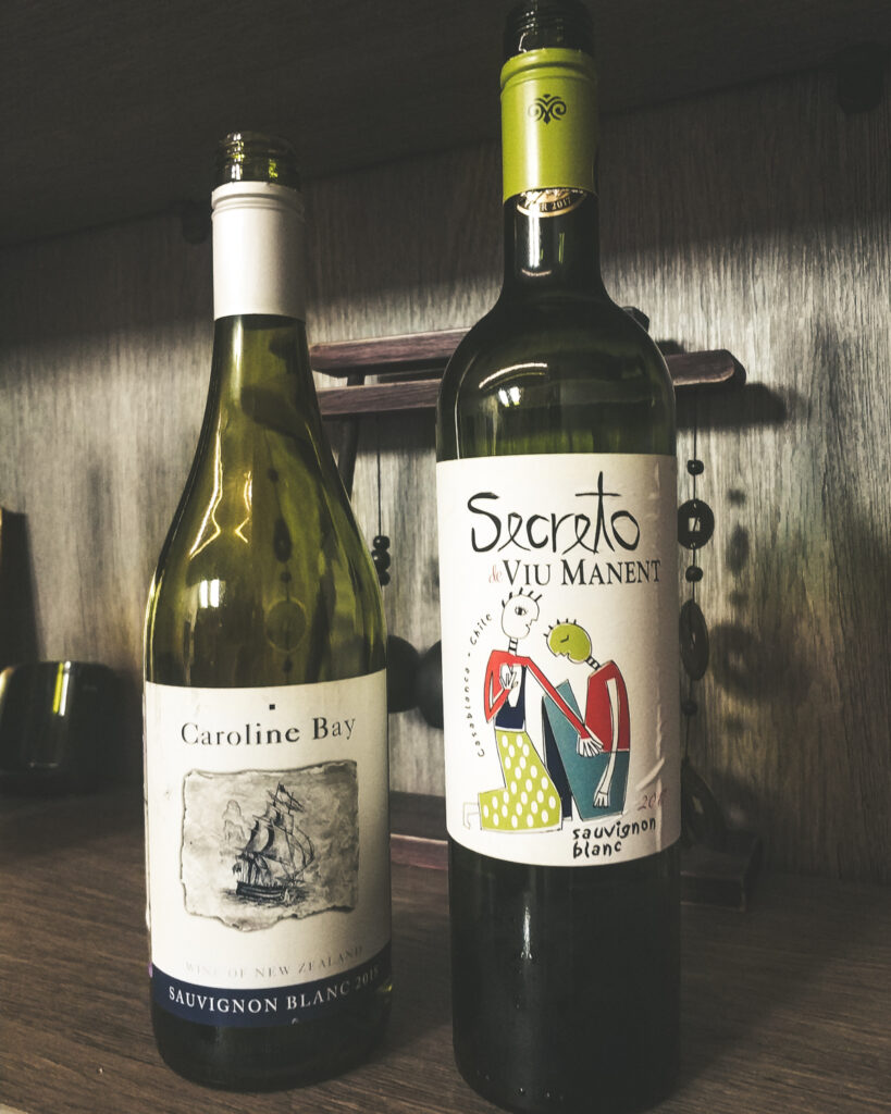 Caroline Bay, Sauvignon Blanc vs Viu Manent Secreto Sauvignon Blanc