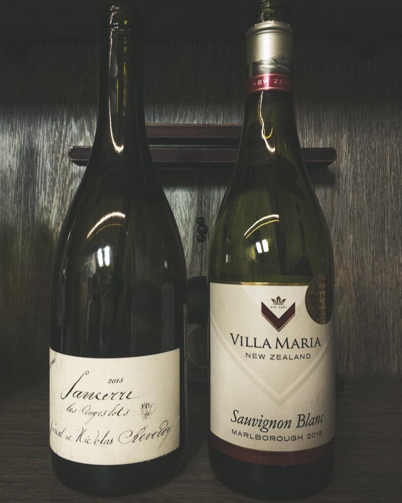 Villa Maria, «Private Bin» Sauvignon Blanc vs Pascal et Nicolas Reverdy, «Terre de Maimbray», Sancerre