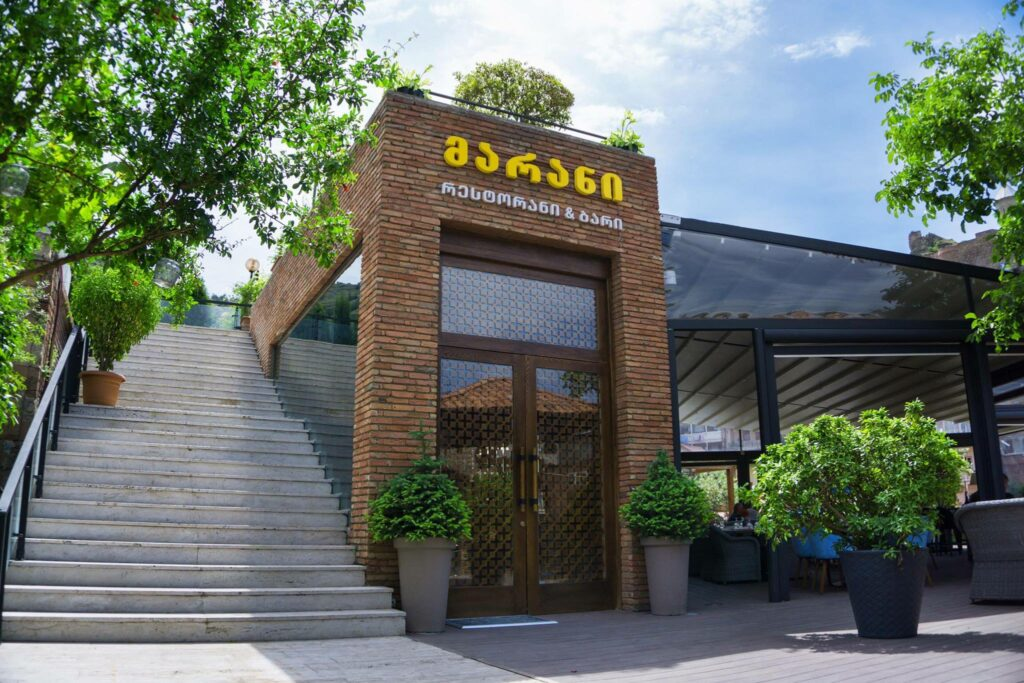 Marani Restaurant & Bar -  где попить вина и поесть в Тбилиси