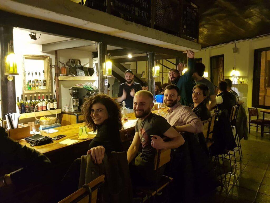 Chachatime -  где попить вина и поесть в Тбилиси