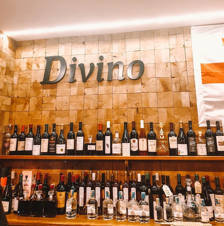 Divino - где попить вина в Тбилиси