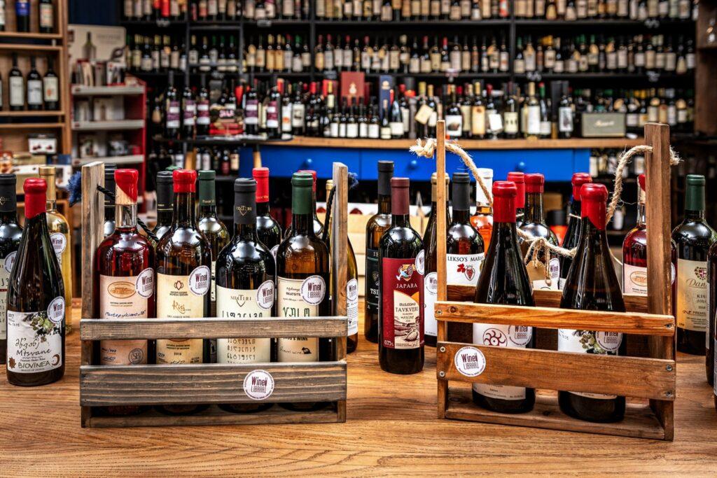 Wine Library - где попить вина в Тбилиси