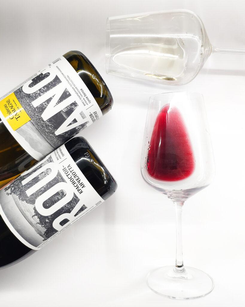 Новинка Пятерочки: вино Шато Тамань за 257 руб.