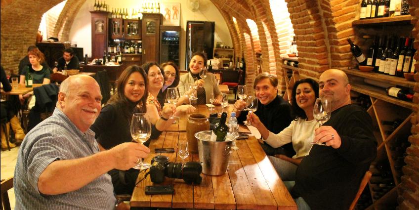 Vino Undergroud - где попить вина в Тбилиси
