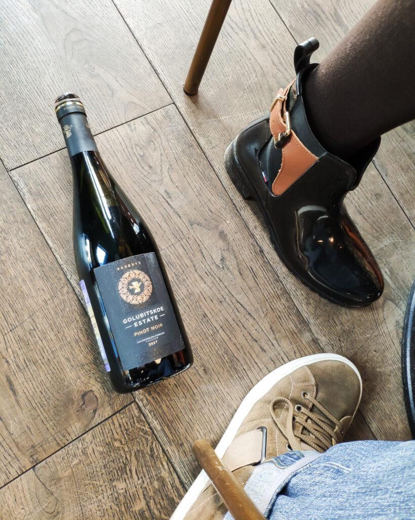 Обзор на вино Golubitskoe Estate, Pinot Noir Reserve, 2017 красное сухое