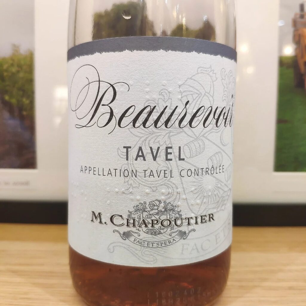 Beaurevoir от Шапутье розовое вино отзыв