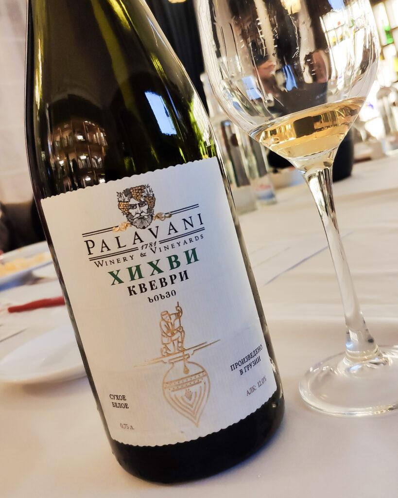 Обзор и отзыв на вино Palavani, Хихви «Квеври»