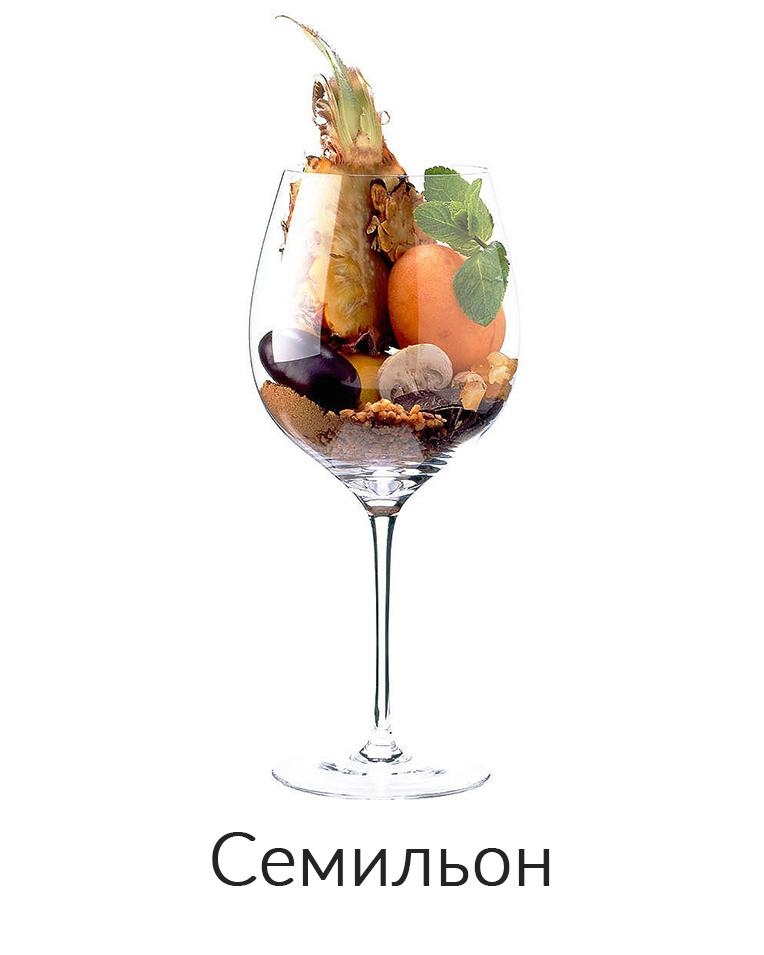 Семильон ароматы вина