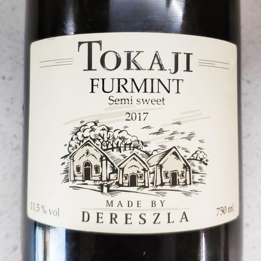 Вино Chateau Dereszla, Tokaj Furmint Semi-sweet, 2017