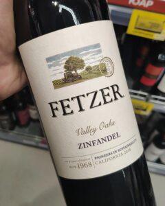 Отзыв на вино Fetzer Zinfandel, 2018