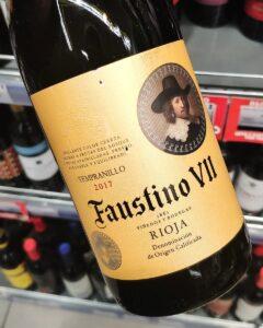 Отзыв на вино Faustino VII Tempranillo, 2017