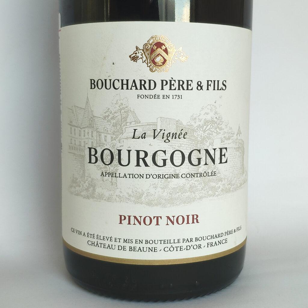 Обзор Bourgogne Pinot Noir La Vignee, Bouchard Pere & Fils, 2018