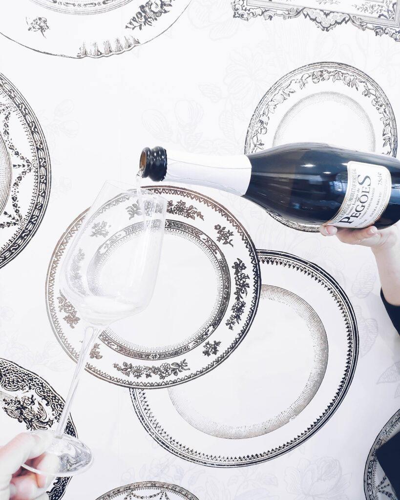 Обзор на вино Santo Isidro de Pegoes Extra Brut