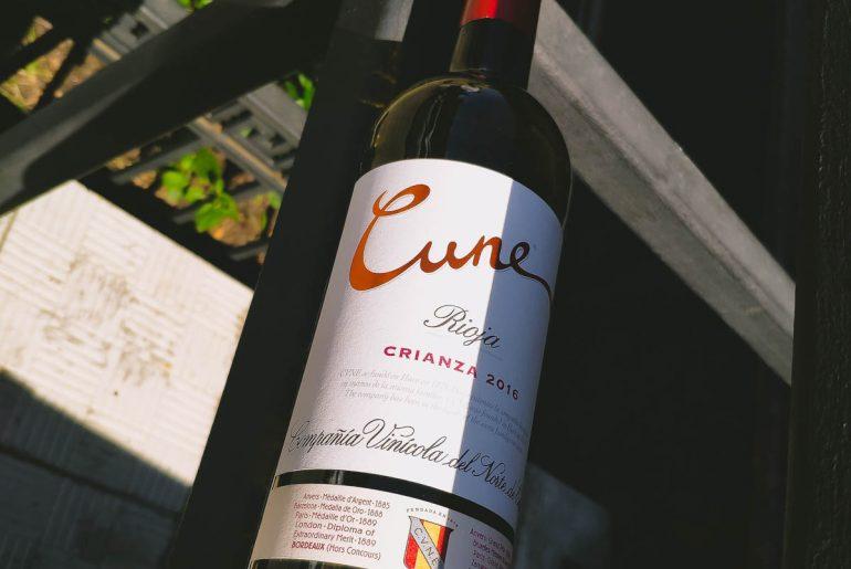 Cune Crianza, 2016 красное сухое