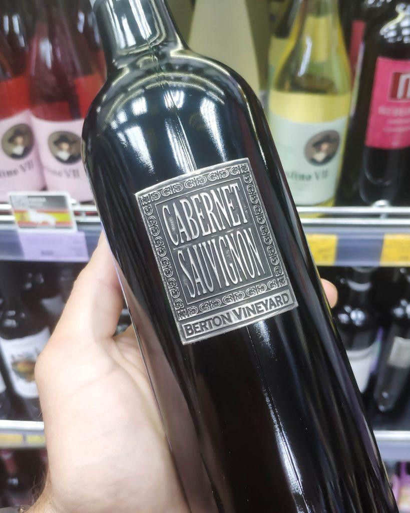Отзыв на вино Berton Vineyard Cabernet Sauvignon, 2019