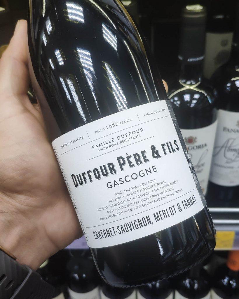 Отзыв на вино Duffour Gascogne, 2019