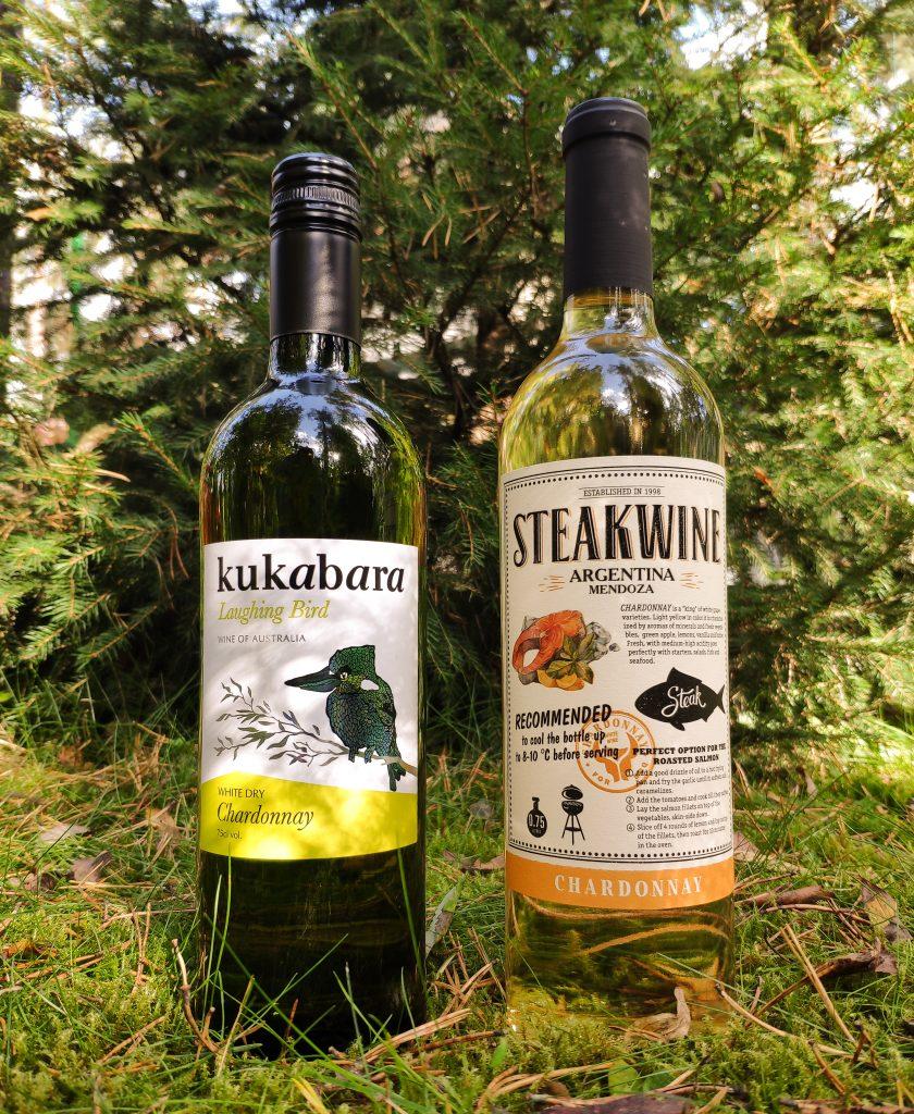 Обзор Kukabara Laughing Bird Chardonnay, 2019 и Steakwine Chardonnay, 2019