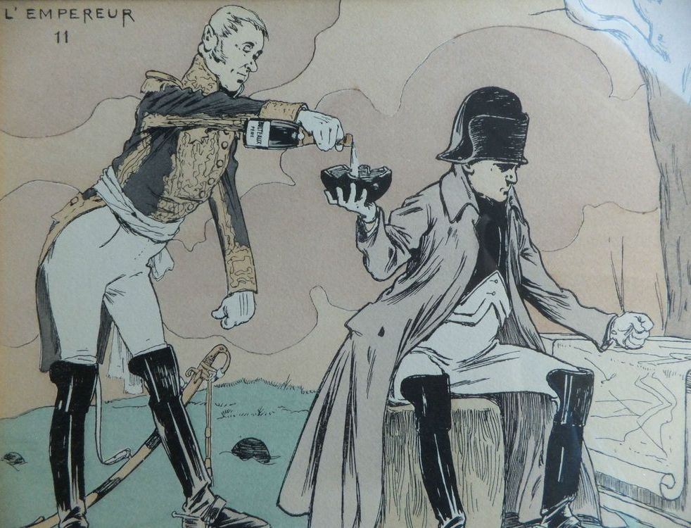 Какое вино любил Наполеон Бонапарт?