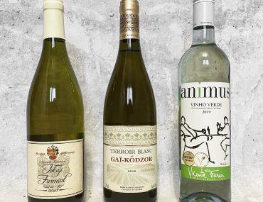 3 белых вина из Метро