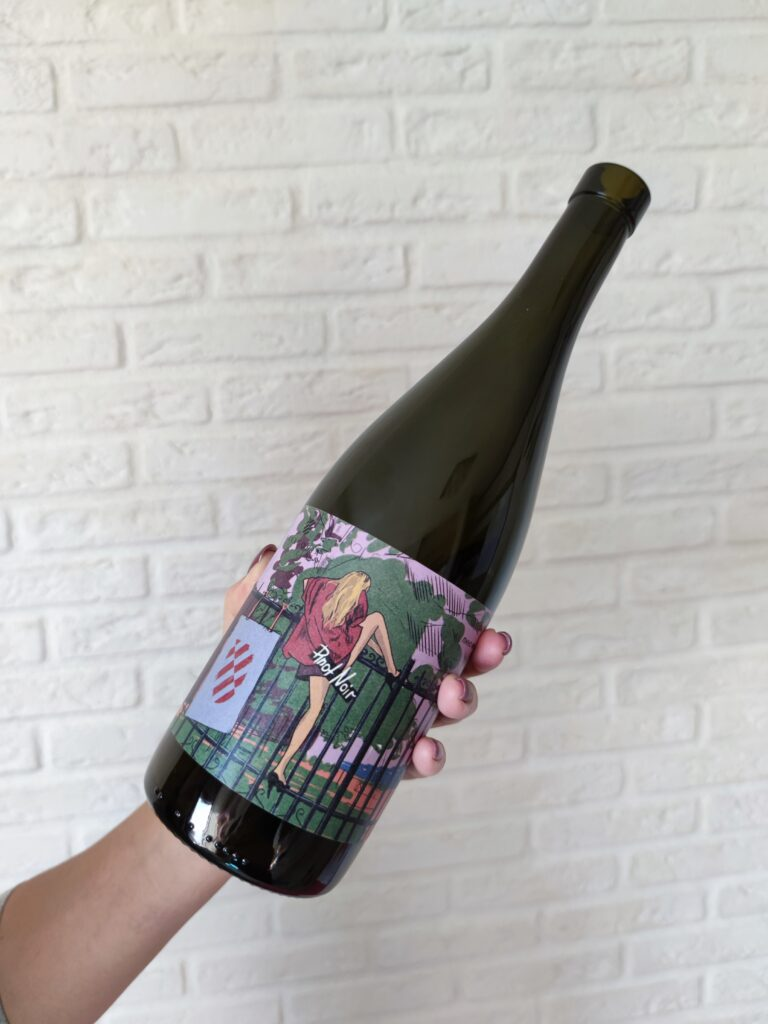 Вино Винодел & Сомелье Пино Нуар, 2019 Фанагория